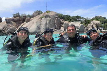 PADI Discover Scuba Diving on Koh Tao