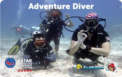 PADI Adventure Diver Course on Koh Phangan Island - Two Days Diving Course