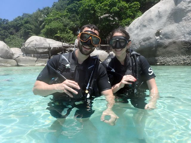 Special price for scuba diving & PADI Courses on Koh Samui island during COVID-19