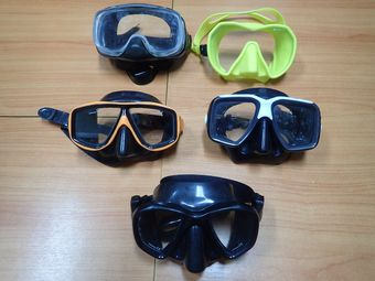Diver's mask is a very important dive equipment