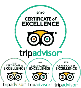 "PADI 5 Star IDC Dive Center ""Scuba Birds"" - TripAdvisor Certificates of Excellence 2016-2019"
